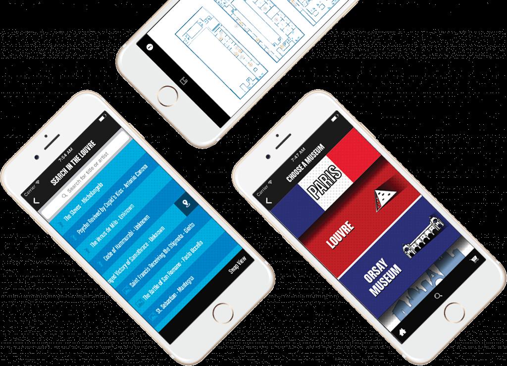 QuickMuseum App_smartphone